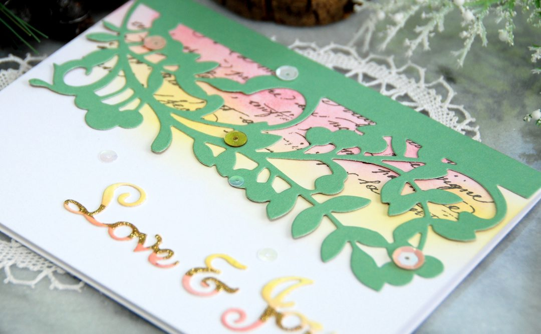 A Sweet Christmas Inspiration | Love & Joy Card with Virginia