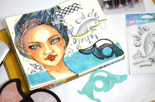 Spellbinders Jane Davenport Artomology | Mixed Media Inspiration with Mayline