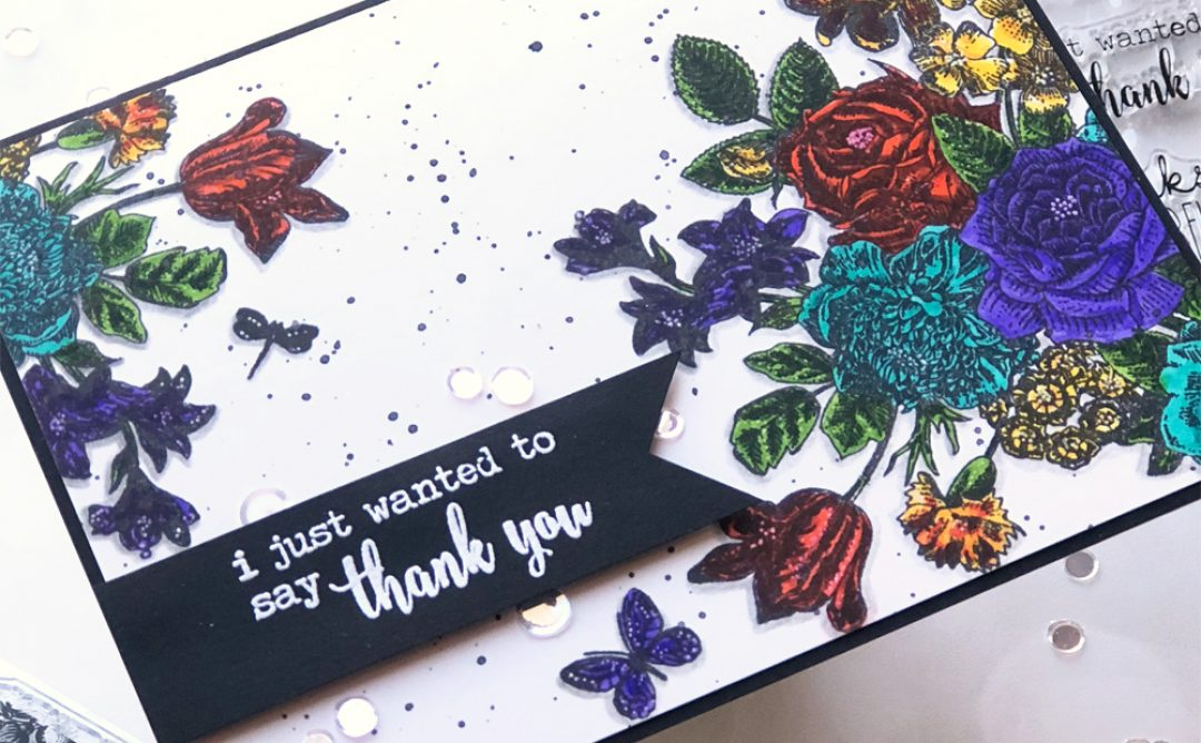 NEW Clear Stamps | Gratitude Card with Brenda Noelke