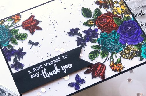 Spellbinders NEW Clear Stamps | Gratitude Card with Brenda Noelke #spellbinders #neverstopmakingSpellbinders NEW Clear Stamps | Gratitude Card with Brenda Noelke #spellbinders #neverstopmaking