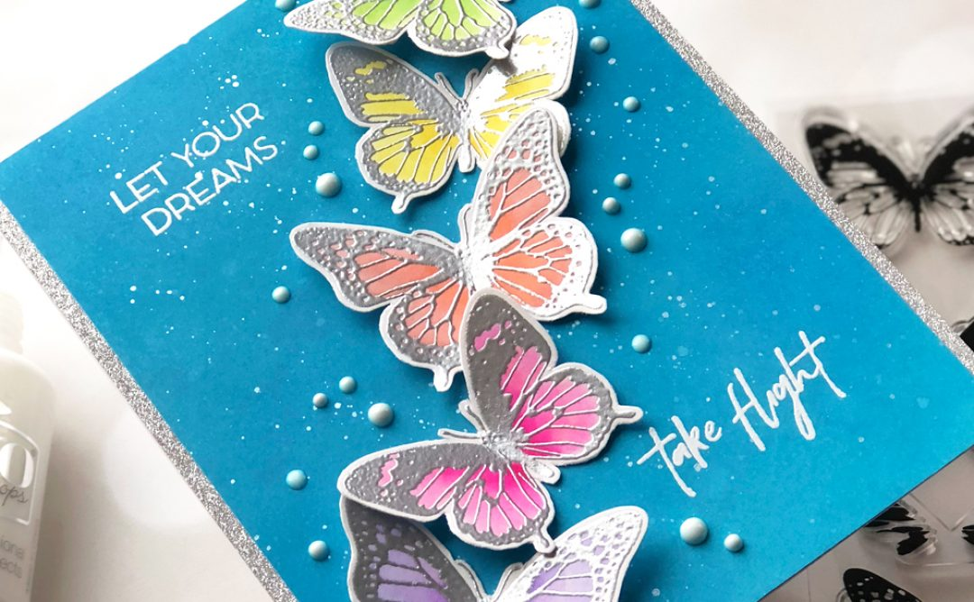 NEW Clear Stamps | Flowers & Butterflies with Brenda Noelke