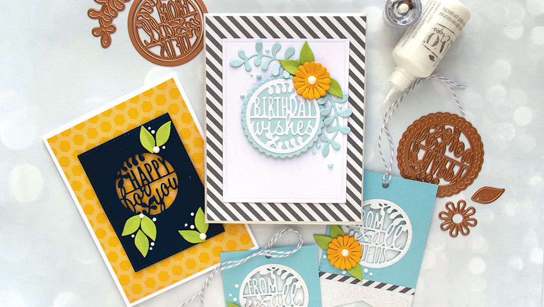 Spellbinders December 2018 Small Die of the Month is Here – Warm Wishes!