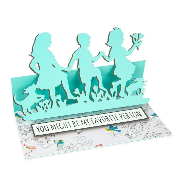 Great, Big, Wonderful World | Collection Introduction by Sharyn Sowell. S4-966-Sharyn-Great-Big-Wonderful-World-Dance-for-Joy-Etched-Dies-project