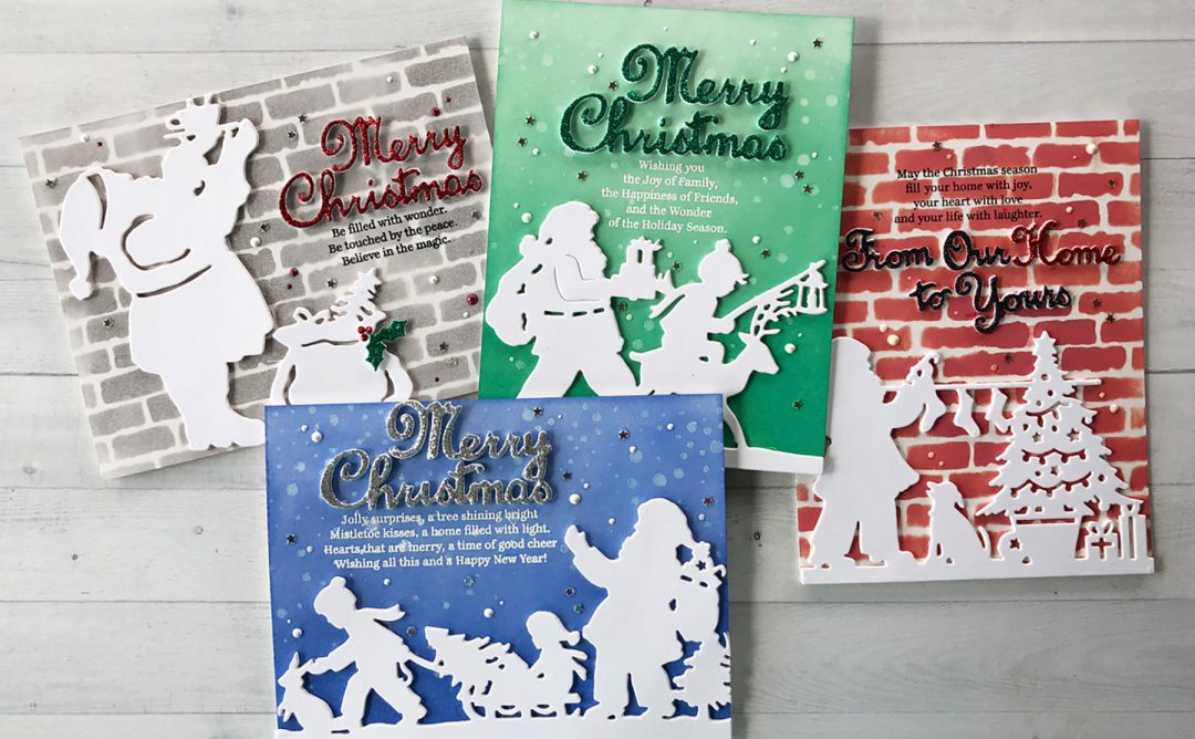 Video: Silhouetted Images Against Inked and Stenciled Backgrounds with Nichol