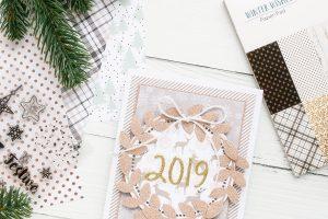 Spellbinders Card Club Kit Extras! December Edition - 2019 Handmade Card