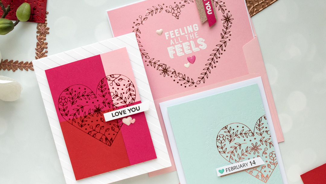 January 2019 Glimmer Hot Foil Kit of the Month is Here – My Love Grows