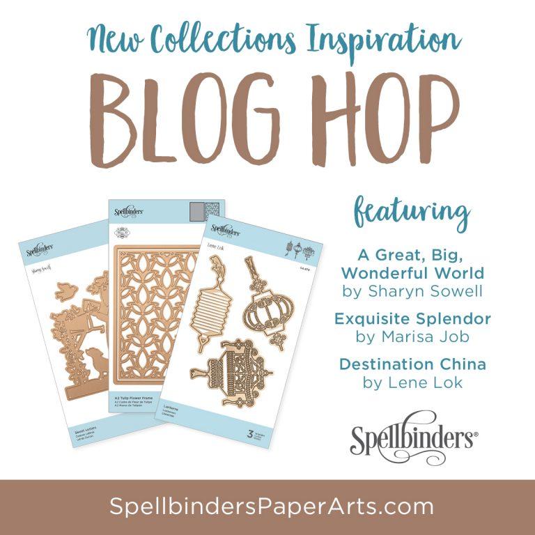 Spellbinders December 2018 Release. Blog Hop + Giveaway