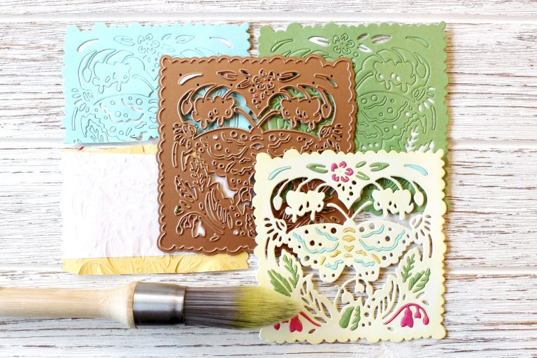 Great, Big, Wonderful World Inspiration | Colorful Cards by Melody Rupple for Spellbinders