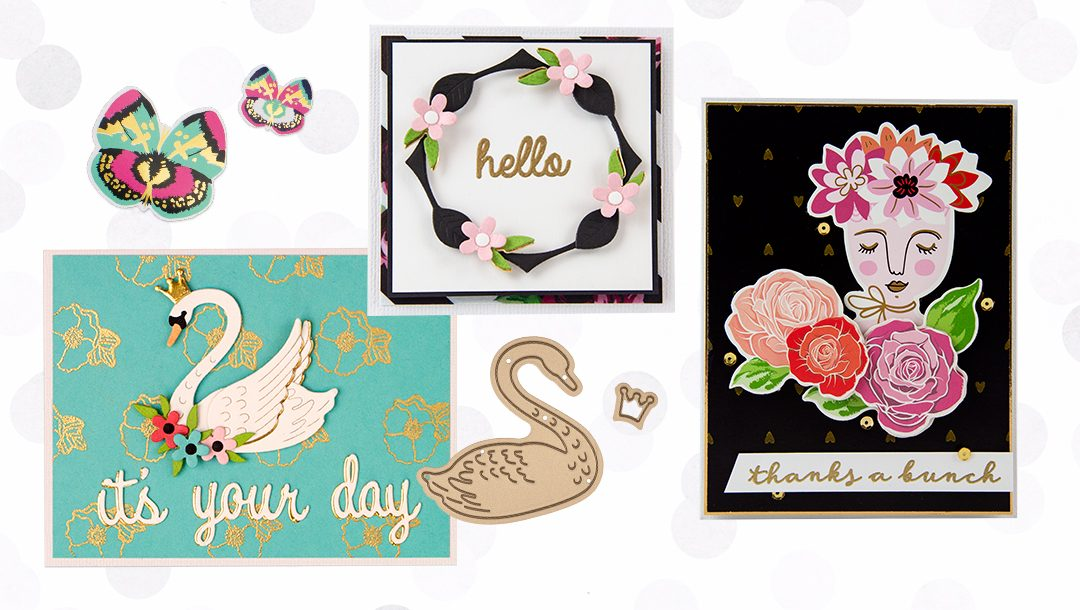 February 2019 Card Kit of the Month is Here – Golden Swan!