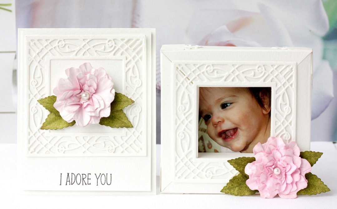 Romantic Forest Shadowbox and Shadowbox as a Photo Frame with Karin