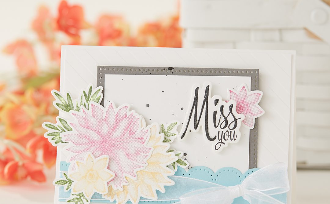 Miss You Card | Florals and More!