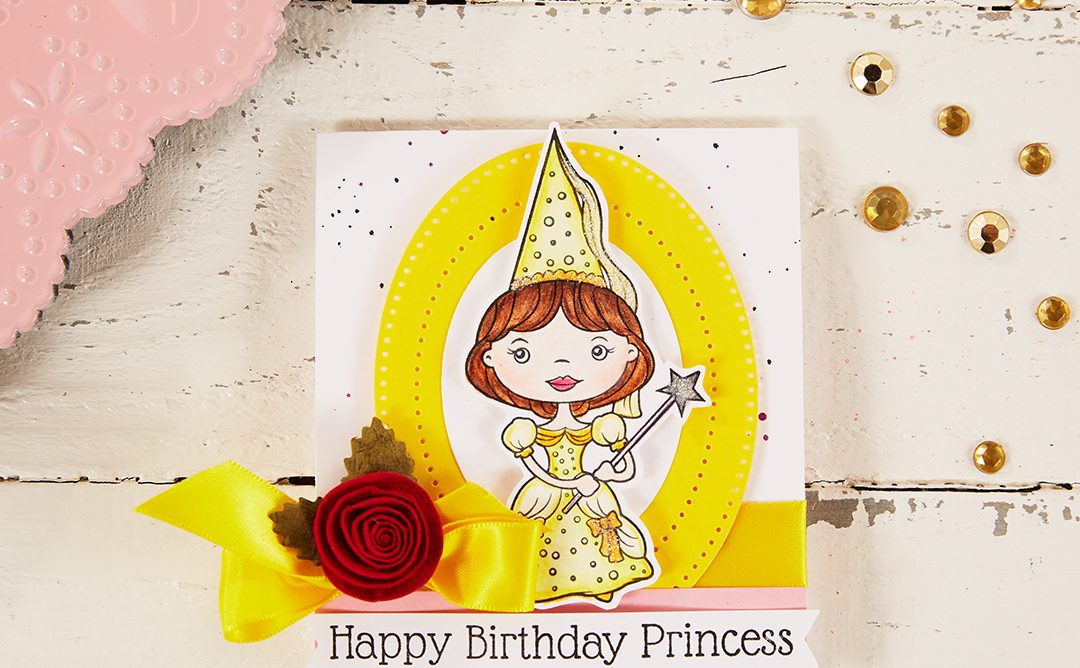 Handmade Princess Party Invitations