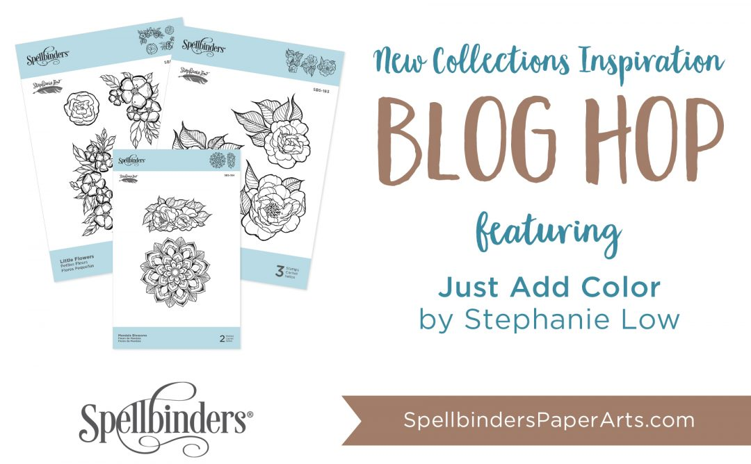 Stephanie Low Just Add Color Release. Blog Hop + Giveaway (Now Closed)