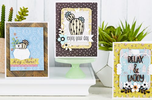 March 2019 Card Kit of the Month is Here – Relax & Enjoy
