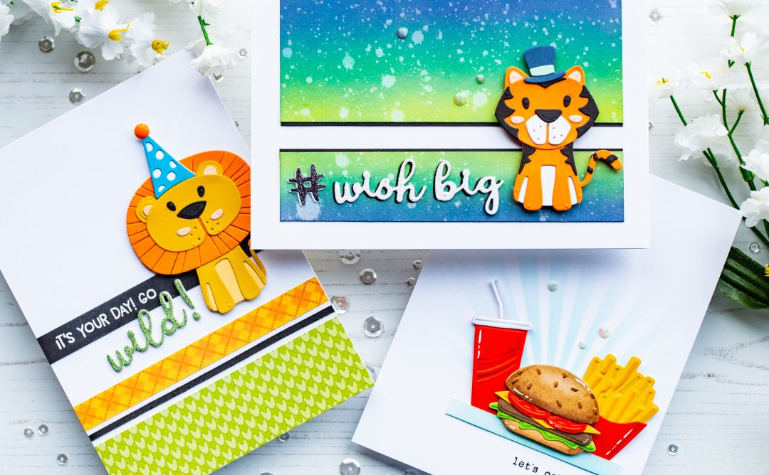 Die D-Lites Inspiration | Playful Critter Cards with Gemma