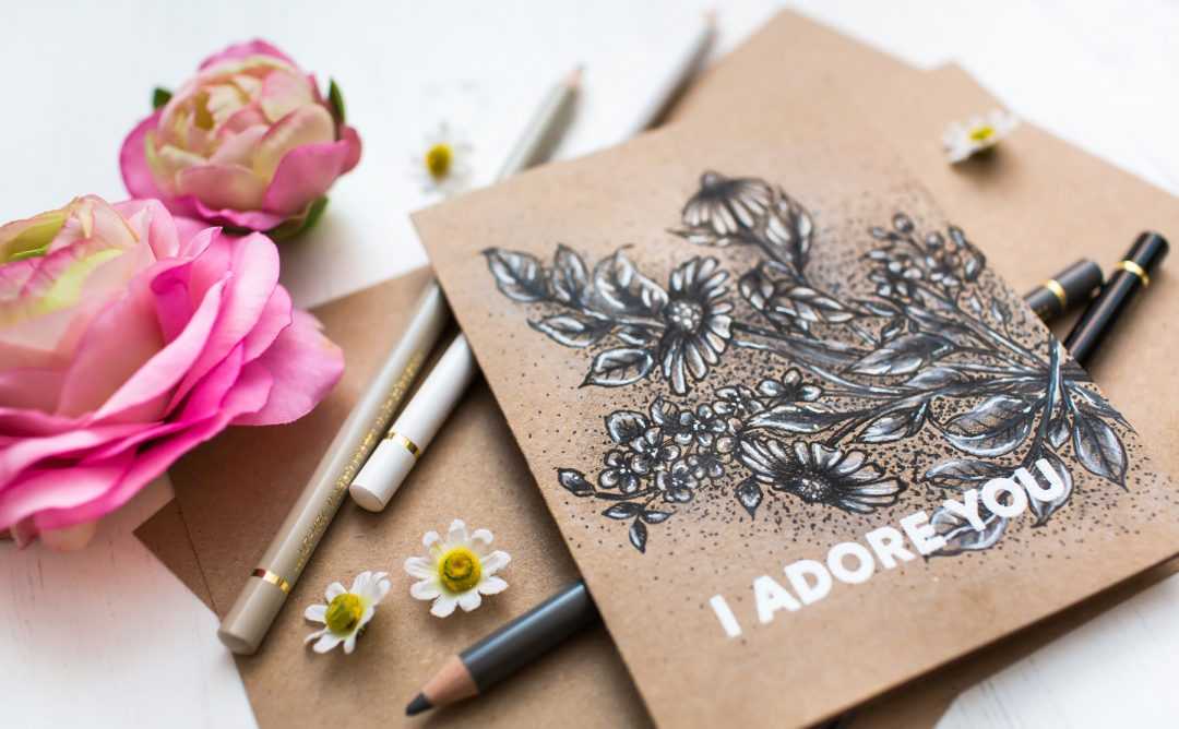 Just Add Color Collection by Stephanie Low - Inspiration | Monochromatic Floral Card with Mona Toth for Spellbinders