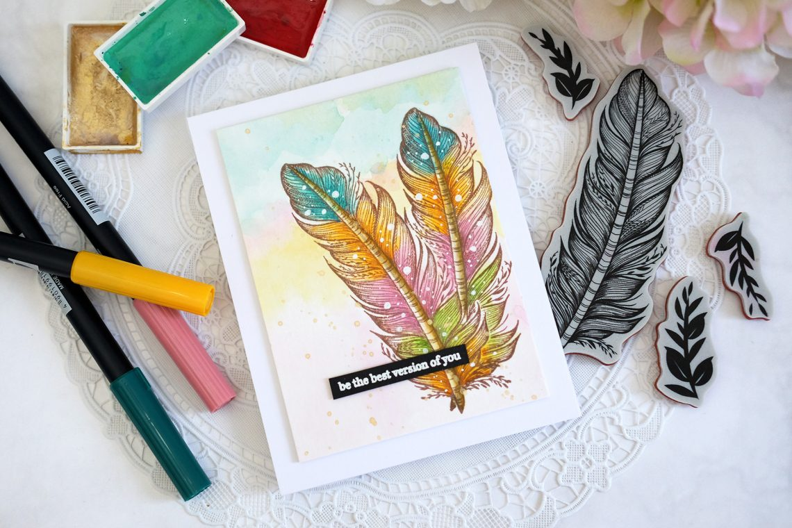 Just Add Color Collection by Stephanie Low - Inspiration | Clean & Simple Stamped Cards with Vera Rhuhay for Spellbinders