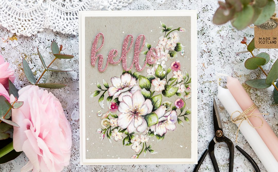 Video: Just Add Color Inspiration | Pencil Coloring on Kraft with Debby Hughes