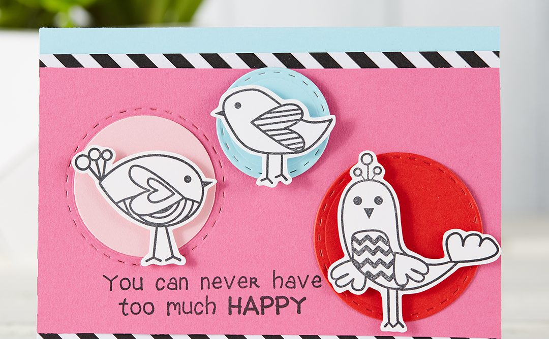 Too Much Happy | Fun Cards For Friends
