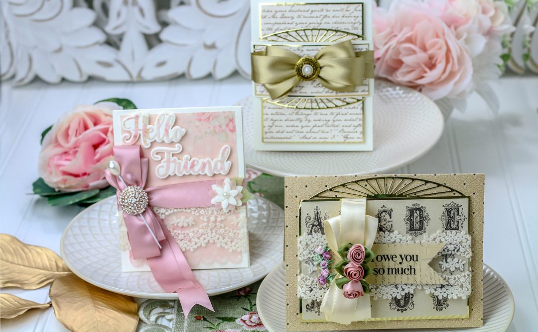 April 2019 Amazing Paper Grace Die of the Month is Here – Elegant Swivel & Sashay Card