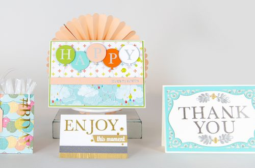 April 2019 Glimmer Hot Foil Kit of the Month is Here – Classic Alphabet