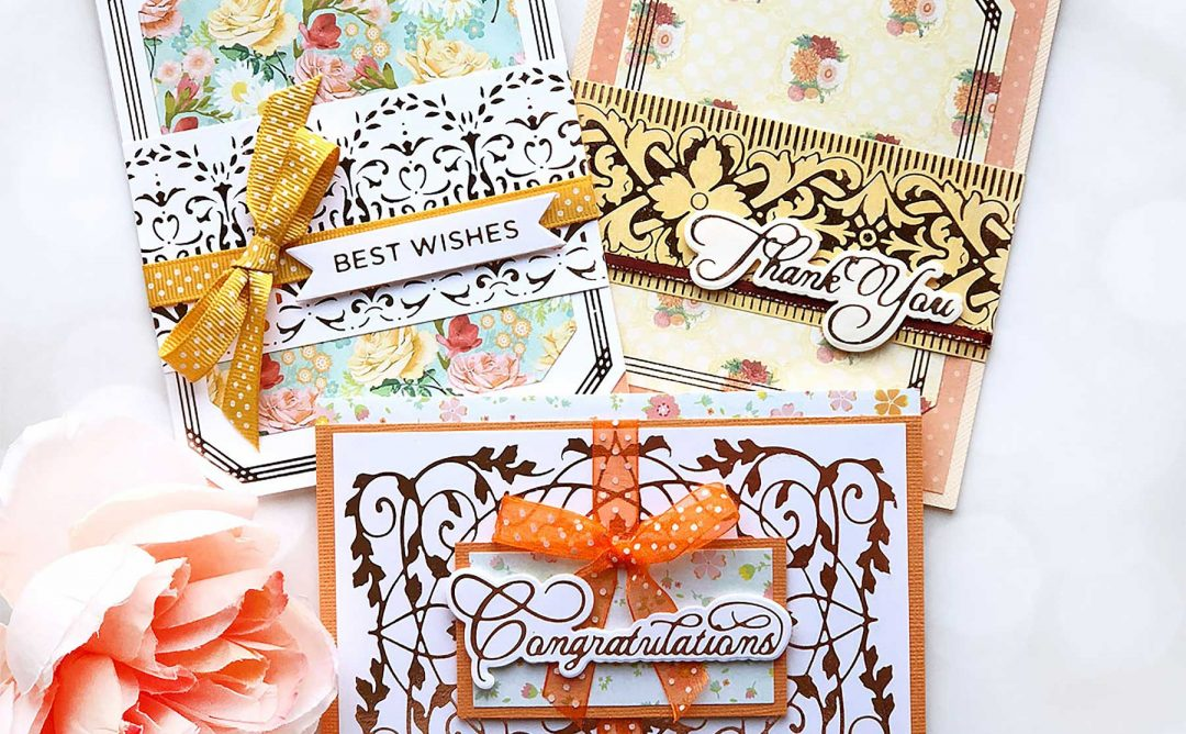 The Gilded Age Collection Inspiration | Foiled Greeting Cards with Brenda