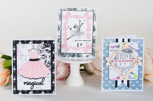 Spellbinders April 2019 Card Kit of the Month is Here – Night Out