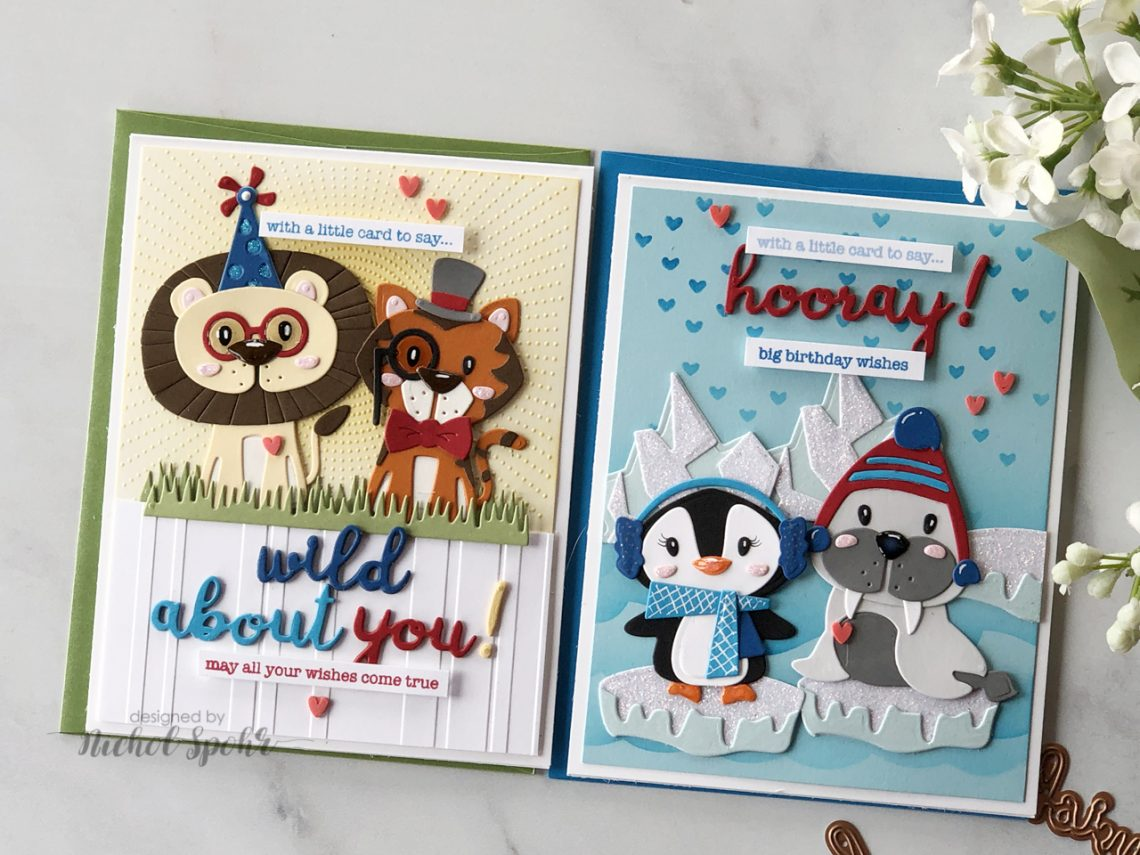 Video: Die D-Lites Animal Scene Cards with Nichol