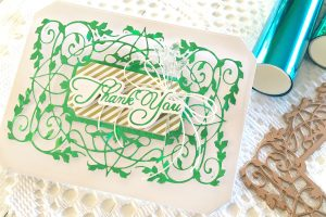 Video: The Gilded Age Collection by Becca Feeken - Inspiration   Foiled Thank You & Congratulations Cards by Tina Smith for Spellbinders