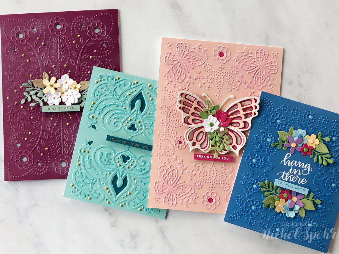 Video: New Cut & Emboss Folders Cards with Nichol Spohr for Spellbinders