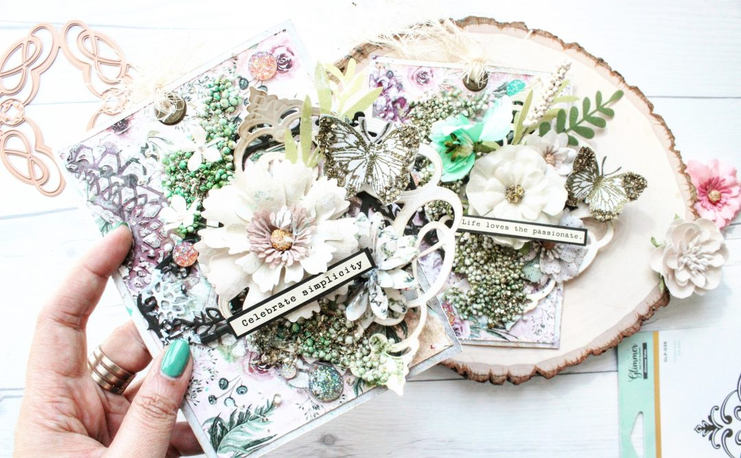 Spellbinders Vintage Treasures Collection by Becca Feeken - Inspiration | Passions of Life Tags by Mallika Kejriwal