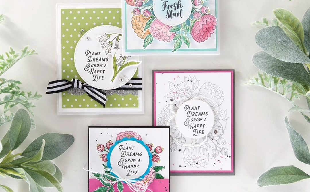 Introducing Fun Stampers Journey April 2019 Stamp of the Month – Fresh Start