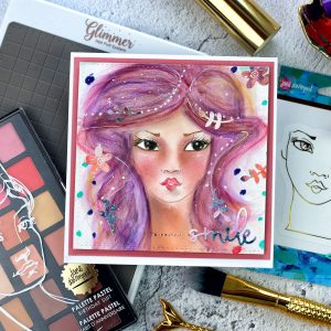 Jane Davenport NEW Artomology | My First Whimsical Girls by Bibi Cameron for Spellbinders