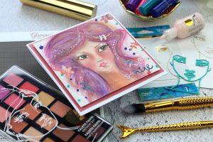 Jane Davenport NEW Artomology   My First Whimsical Girls by Bibi Cameron for Spellbinders