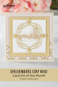 "Using Just Stamps & Dies! May ""Stay Wild"" 2019 Card Kit of the Month Edition"