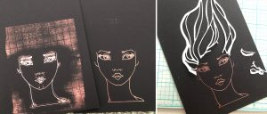 Jane Davenport NEW Artomology | Get Creative with Mayline Jung - Mixed Media Piece