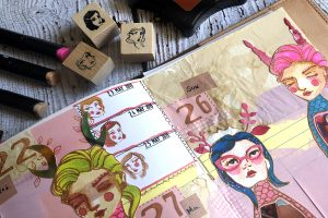 Jane Davenport Artomology & Making Faces   Highlight your life with Courtney Diaz