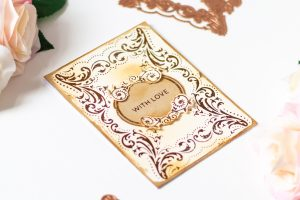 Royal Flourish Inspiration   Clean & Simple Foiled Cards with Laura Volpes