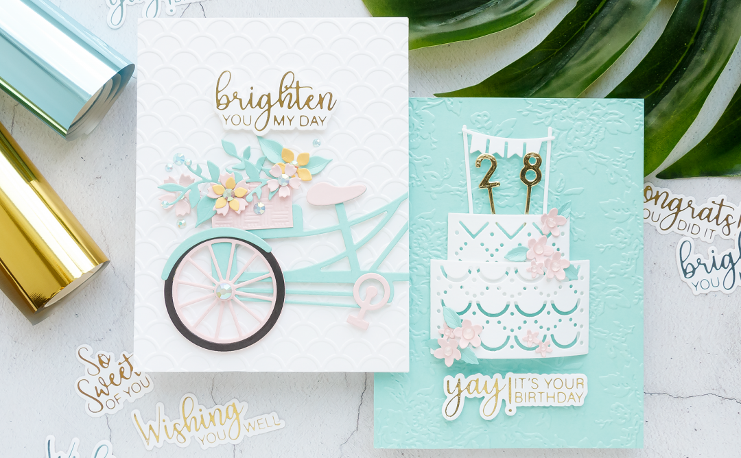 July 2019 Glimmer Hot Foil Kit of the Month is Here – Glimmering Sentiments