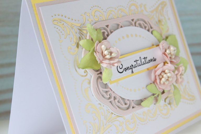 Royal Flourish Inspiration | Foiled Cards with Hussena