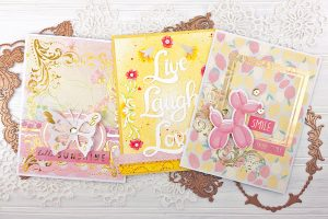Royal Flourish Inspiration | Foiled Cards with LauraJane