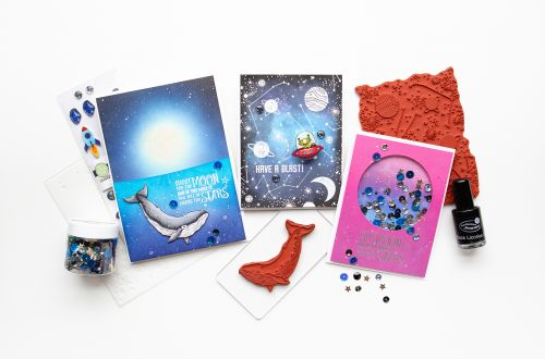 Hello Summer Inspiration   Starry Night Cards with Jung AhSang