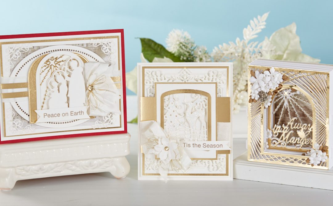 3D Holiday Vignettes and Holiday Glimmer Collection Introduction by Becca Feeken