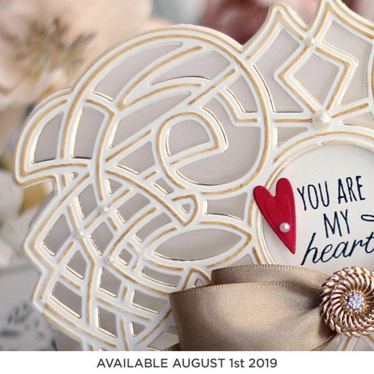 Coming Soon! Spellbinders August 2019 Clubs - Amazing Paper Grace Die of the Month