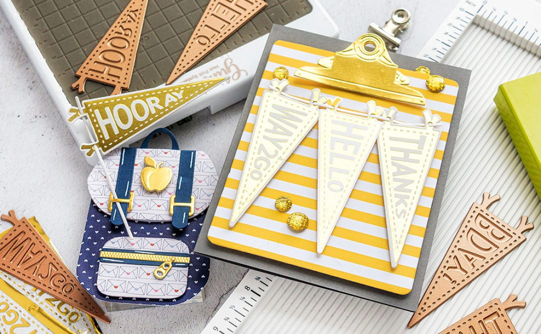 August 2019 Glimmer Hot Foil Kit of the Month is Here – All Occasion Pennants