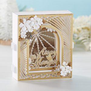 S6-159 Grand Christmas Lattice Arch
