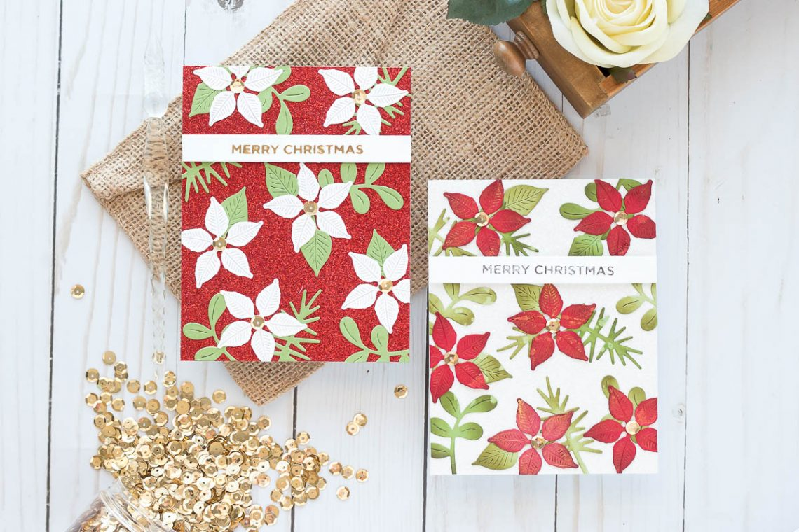 Spellbinders Holiday 2019 Inspiration   Foiled Christmas Cards with Marie