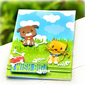 "Spellbinders July Clubs Inspiration Roundup - ""Besties Forever"" Small Die of the Month"