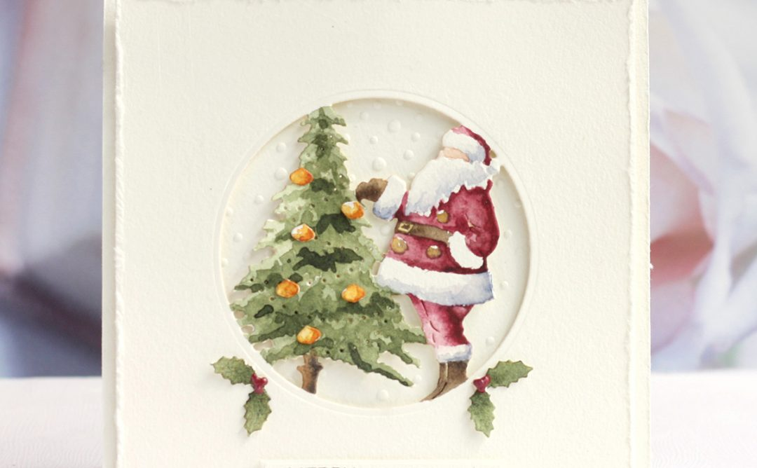 3D Holiday Vignettes Inspiration | Dimensional Christmas Cards with Karin Åkesdotter