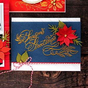 GLP-078 Copperplate Script Season's Greetings